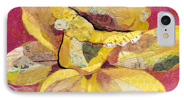 Orchid iPhone 8 Case - Early Spring IIi  Daffodil Series by Shadia Derbyshire