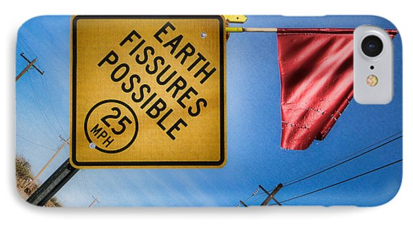 Earth Fissures Possible IPhone Case