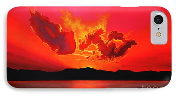 Earth Sunset IPhone Case