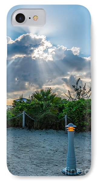 Earthly Light And Heavenly Light  IPhone Case