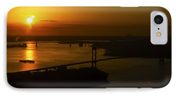 East River Sunrise IPhone Case