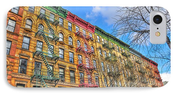 East Village Buildings On East Fourth Street And Bowery IPhone Case