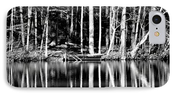 Echoing Trees IPhone Case