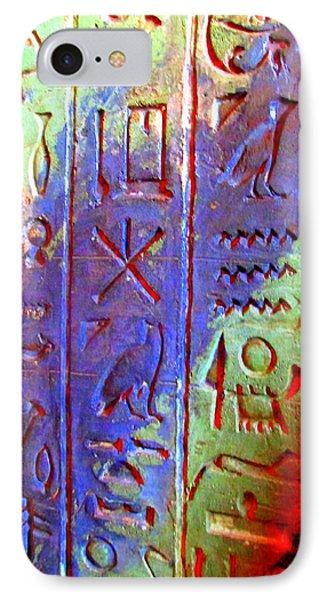 Egyptian Symbols IPhone Case