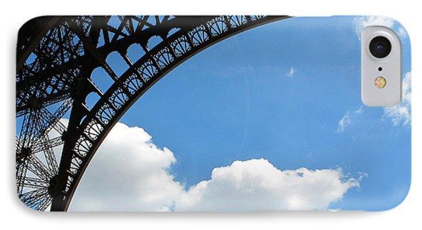Eiffel Clouds IPhone Case