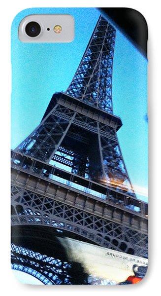 Eiffel In Motion IPhone Case