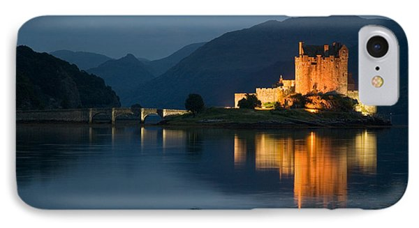 Eilean Donan Castle At Night IPhone Case