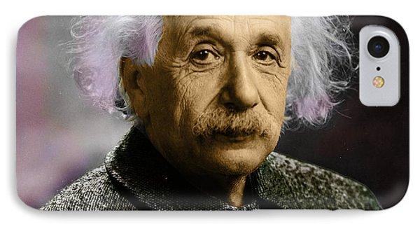 Einstein Explanation IPhone Case