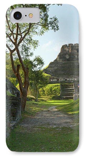 Belize iPhone 8 Case - El Castillo Pyramid, Xunantunich by William Sutton