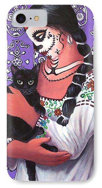 El Gato Negro IPhone Case