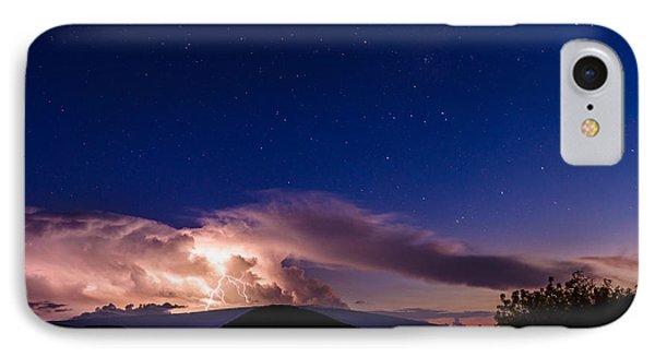 Electric Heavens 1 IPhone Case