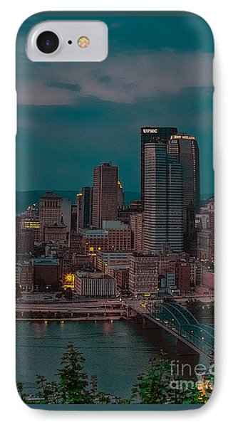 Electric Steel City IPhone Case