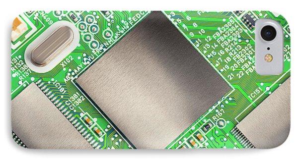 Electronic Printed Circuit Board IPhone Case