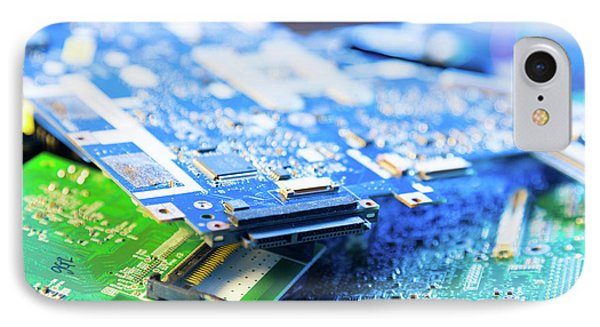 Electronic Printed Circuit Boards IPhone Case