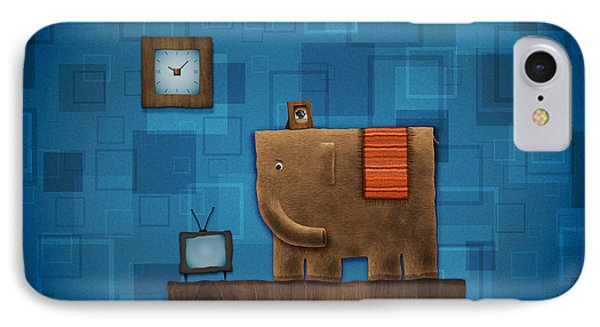 Elephant On The Wall IPhone Case