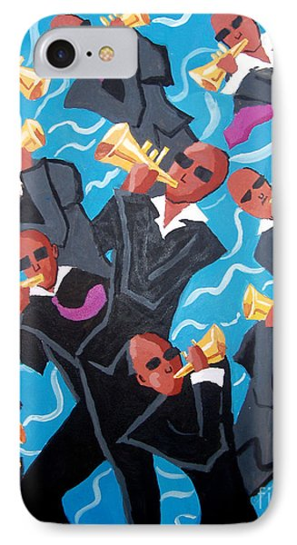 Eleven Pipers Piping IPhone Case