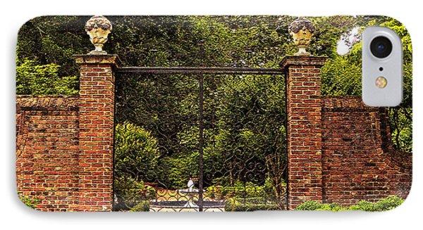 Elizabethan Gardens IPhone Case