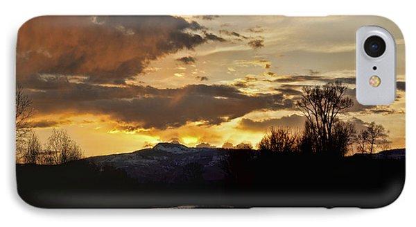 Elk River N Pilots Nob Sunset Ver 2 IPhone Case