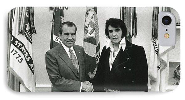 Elvis And Nixon IPhone Case