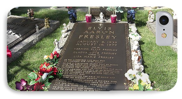 Elvis's Grave IPhone Case