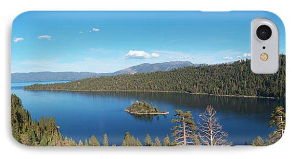 Emerald Bay Lake Tahoe Panorama IPhone Case