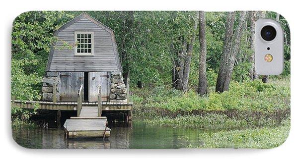 Emerson Boathouse Concord Massachusetts IPhone Case