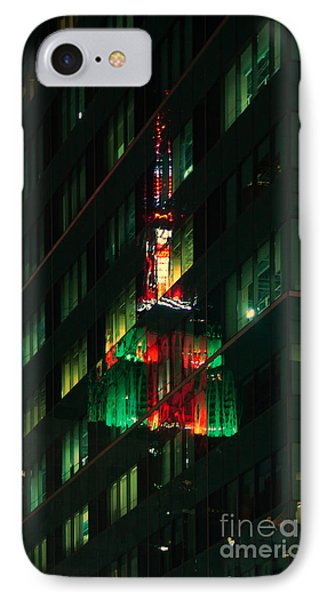 Empire State Building Reflection IPhone Case