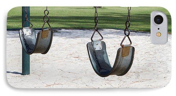 Empty Swings IPhone Case
