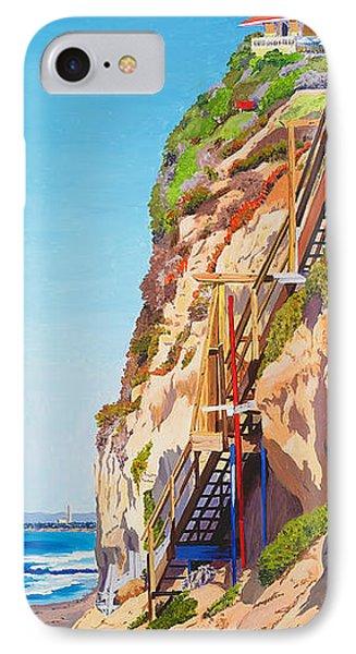 Encinitas Beach Cliffs IPhone Case