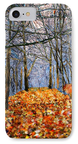 End Of Autumn IPhone Case