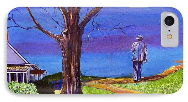 End Of Day Highway 98 IPhone Case