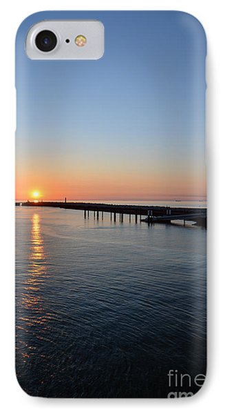 English Channel Sunset IPhone Case