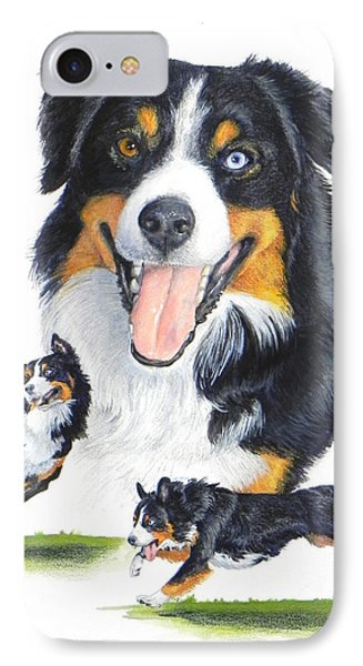 English Shepherd IPhone Case