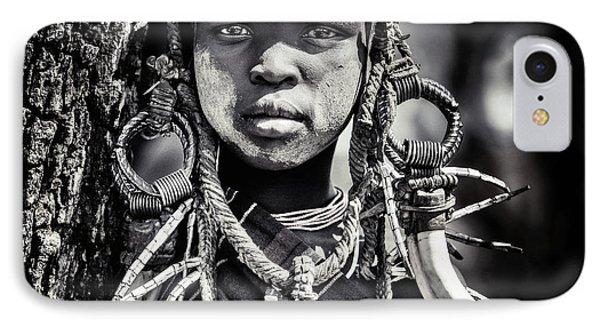 Africa iPhone 8 Case - Enigma by Piet Flour