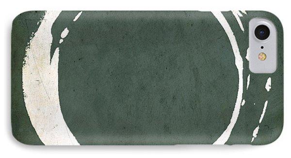 Enso No. 107 Green IPhone Case