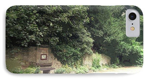 Entrance Door To Demolished Hall, Garden Portal IPhone Case