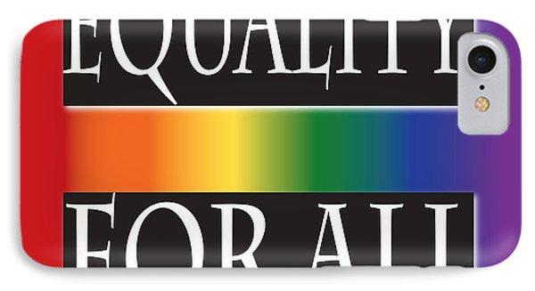 Equality Rainbow IPhone Case