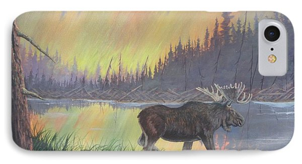 Escaping The Yellowstone Fires IPhone Case