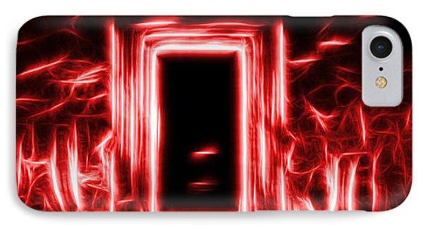 Ethereal Doorways Red IPhone Case