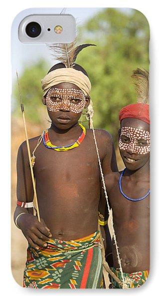 Ethiopia Boys IPhone Case