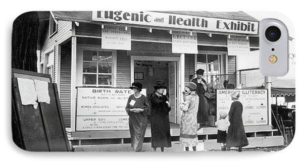 Eugenics Exhibit At Public Fair IPhone Case
