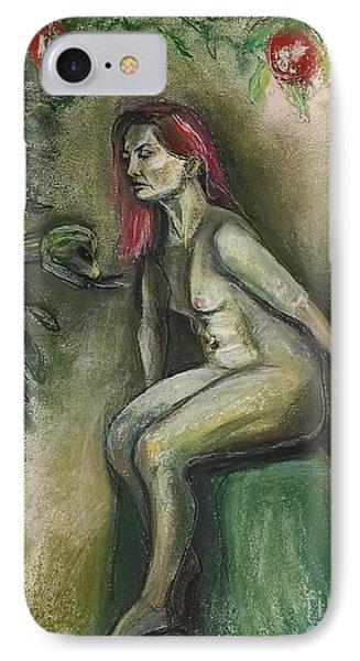 Eve In The Garden  IPhone Case