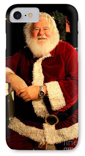 Even Santa Needs A Break IPhone Case