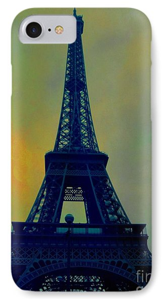 Evening Eiffel Tower IPhone Case