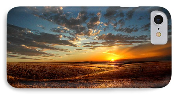Evening Glow In Chase County IPhone Case