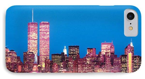 Evening Lower Manhattan New York Ny IPhone Case