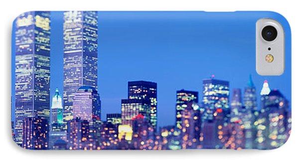 Evening, Lower Manhattan, Nyc, New York IPhone Case