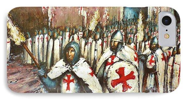 Templar Procession  IPhone Case