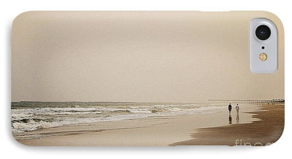 Evening Walk On Wrightsville Beach IPhone Case
