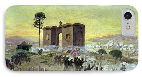 Ewells Charge On Cemetery Ridge IPhone Case